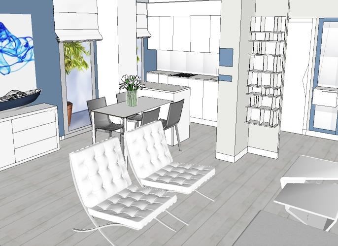 Agencement maison de vacances architecte d 39 int rieur for Architecte interieur antibes