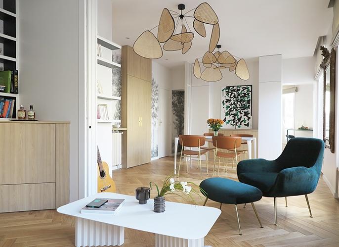 architecte d 39 int rieur paris agence design d 39 int rieur d coration d 39 un appartement paris les. Black Bedroom Furniture Sets. Home Design Ideas