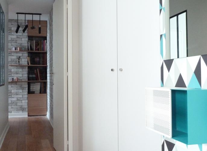 d coration d 39 un appartement style indus architecte d 39 int rieur paris agence design d 39 int rieur. Black Bedroom Furniture Sets. Home Design Ideas