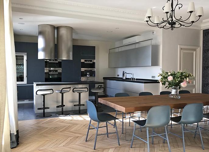 Architecte d 39 int rieur paris agencement appartement luxe for Architecte interieur luxe