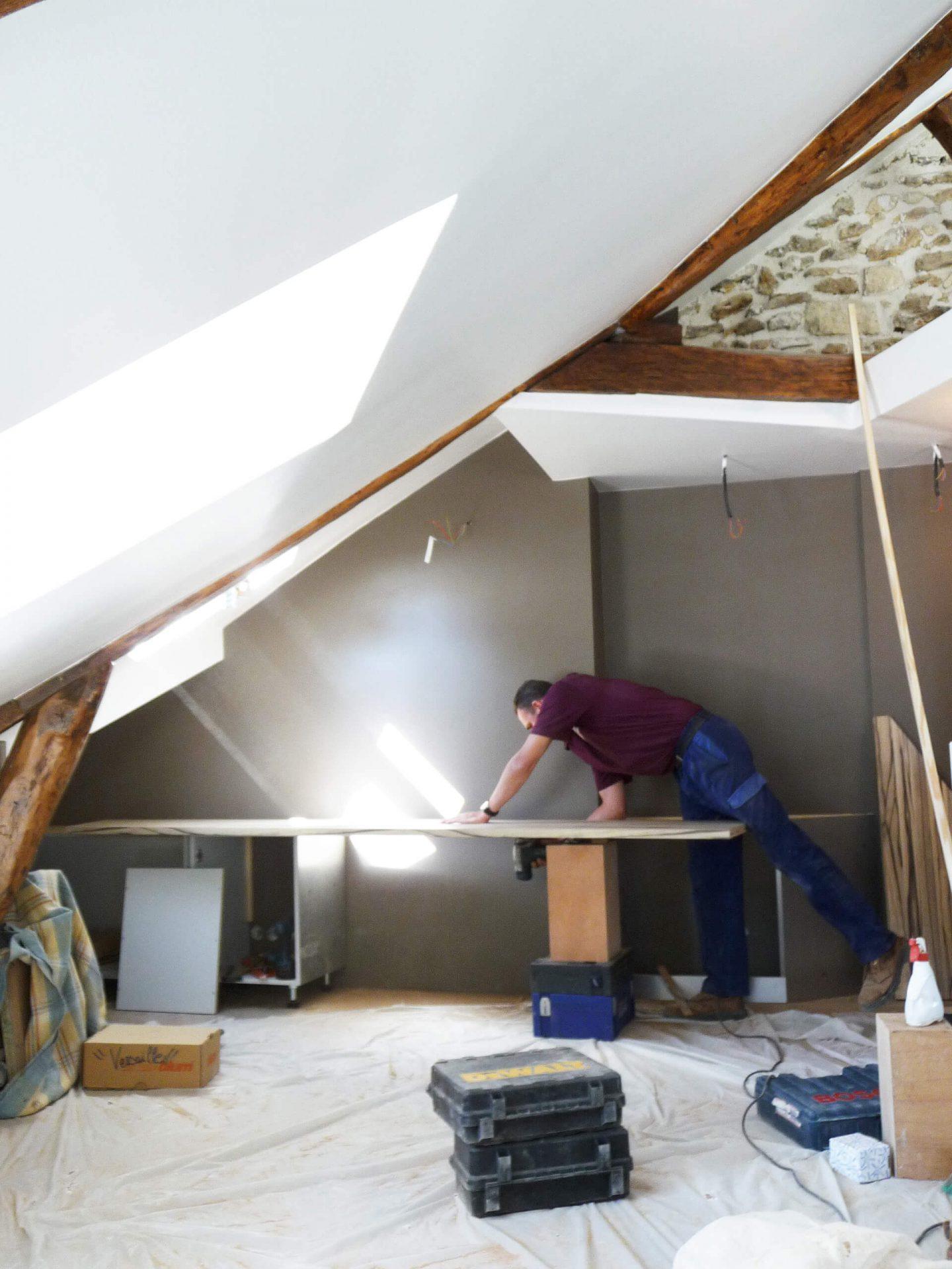 architecte d int rieur paris chantier suivi et coordination. Black Bedroom Furniture Sets. Home Design Ideas